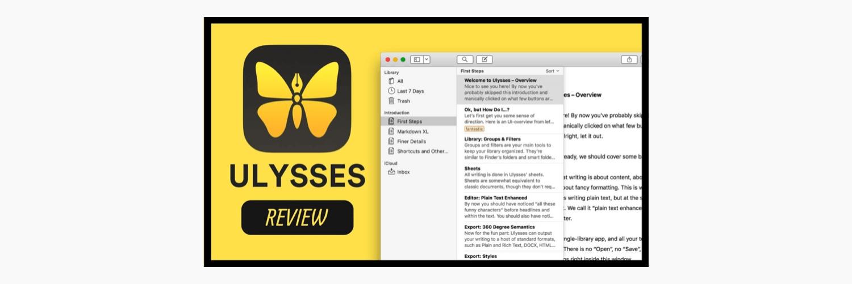 明明是「坑钱软件」,可我为什么选择使用 Ulysses?